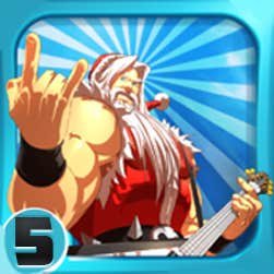Santa Rockstar 5